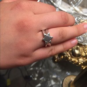 Jewelry - The Star of David sterling silver ring